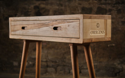 Origins Furniture – Hallway Table / Keys Drawer